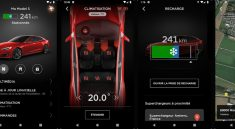 Application Tesla Android Iphone