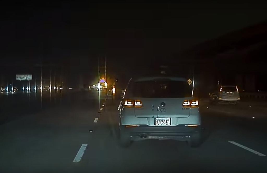 Freinage Urgence Automatique Tesla Model S Accident