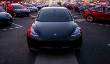 Livraison Tesla Model 3 Europe