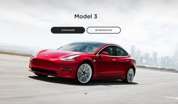 Configurateur Tesla Model 3 France