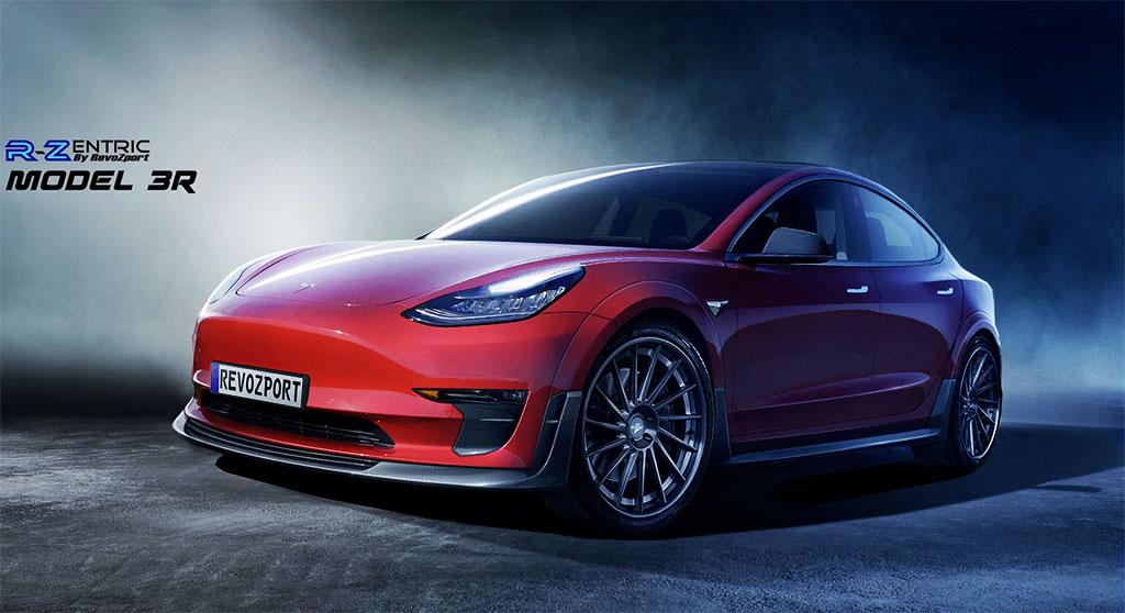 Tesla Model 3 - revozport