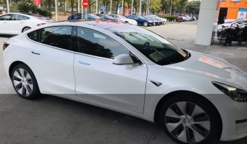 Tesla Model 3 Chine Asie 2019