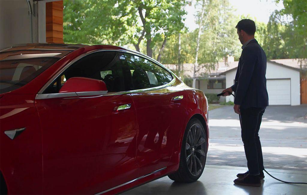Tesla Recharge à Domicile 2019