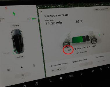 Charge Tesla Model 3 T2 12kW