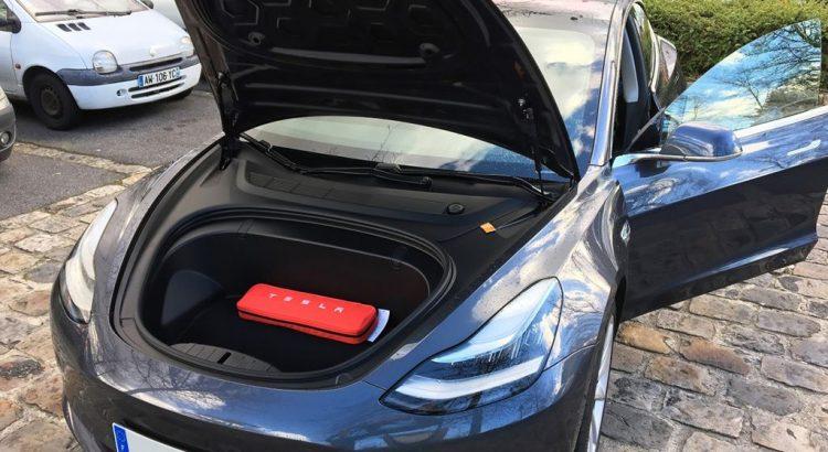 Tesla Model 3 Lang Range Gris