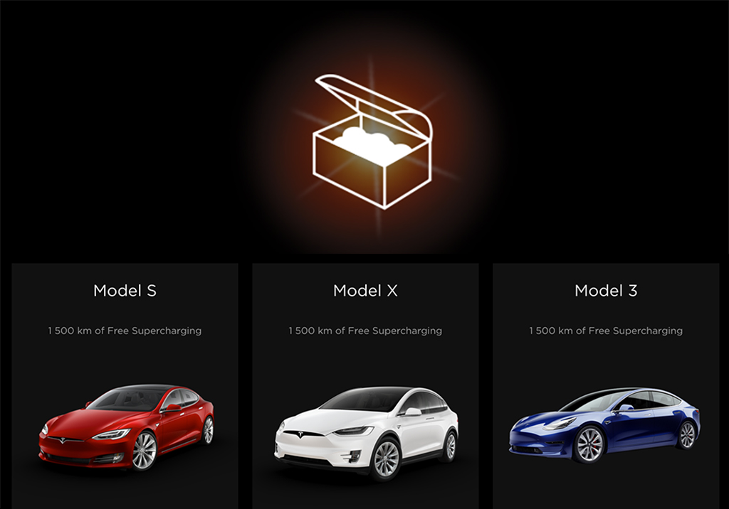 Code parrainage Tesla