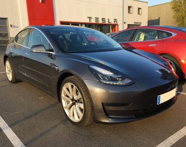 Tesla Model 3 Paris Chambourcy 2019