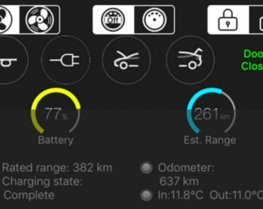 stats-for-Tesla-iphone-widget