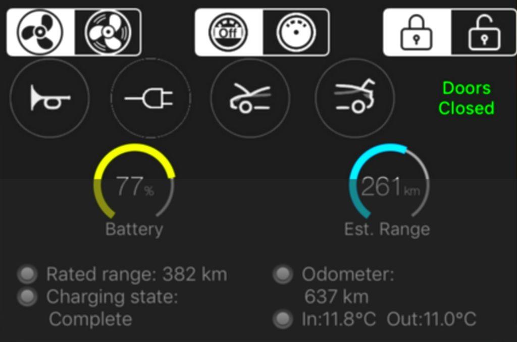 stats-for-Tesla-iphone-widget
