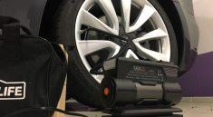 Compresseur pneus Tesla Gonfler
