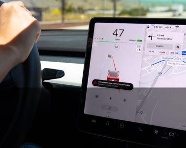 Tesla-lane-corrective-steering