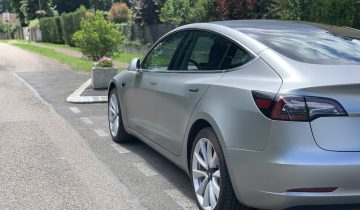 Tesla Model 3 Covering gris satiné