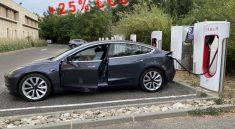 Supercharger Tesla 2021