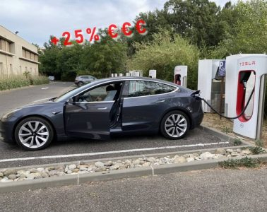 Supercharger Tesla 2021