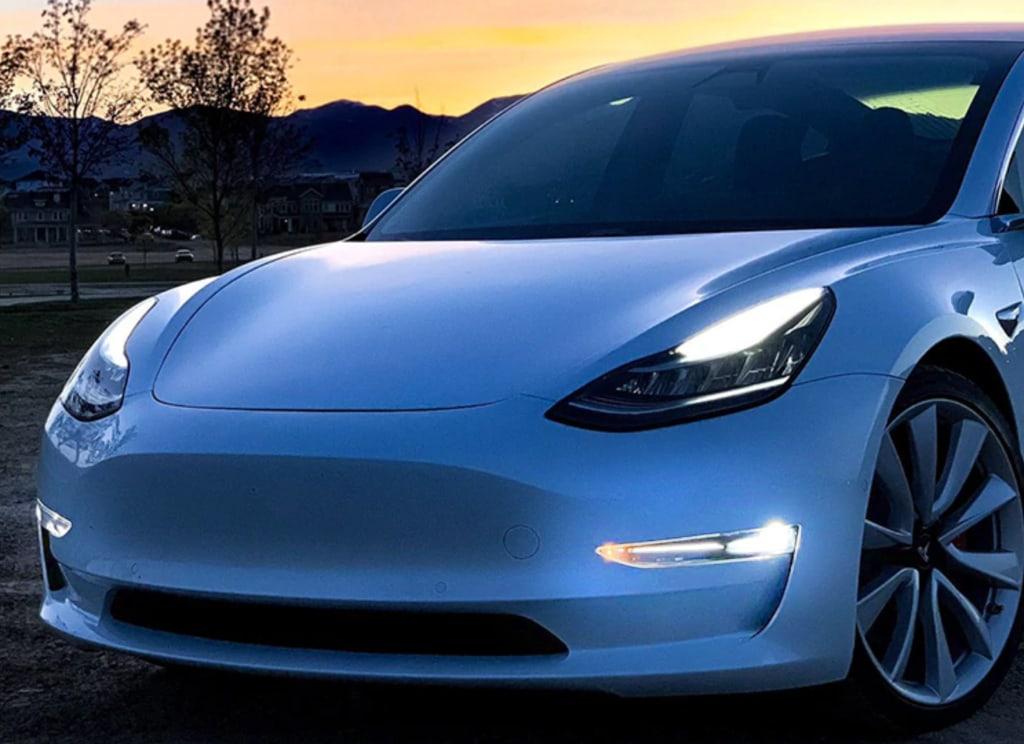 AntiBrouillard Tesla Model 3 SR