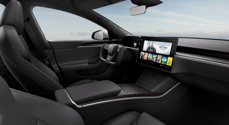 Intérieur Model S 2021
