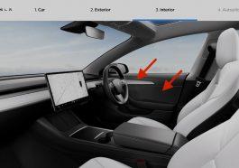 Intérieur Tesla Model 3 2021
