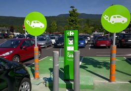 Bornes recharge Carrefour France