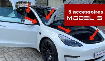 5 accessoires Tesla Model 3