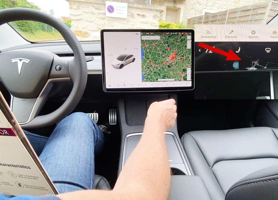 Protection écran Tesla Model 3