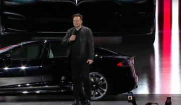 Tesla model S 2021-elon Musk