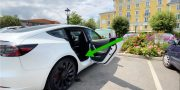Grilles aérations Tesla Model 3 2021