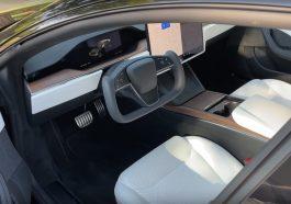 Intérieur nouvelle Tesla Model S 2021 2022
