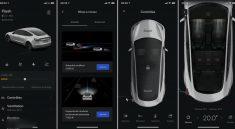 Nouvelle application Tesla 2021 smartphone