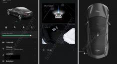 nouvelle application Tesla 2021-2022